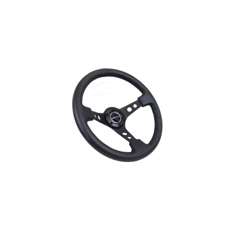 NRG Reinforced Steering Wheel (350mm / 3in. Deep)
