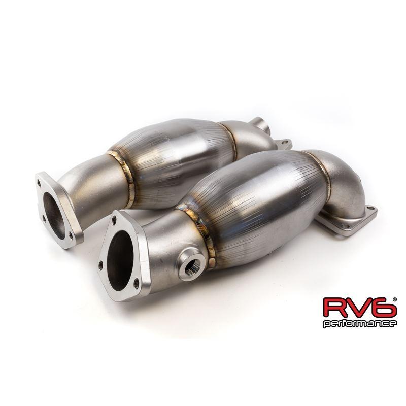RV6 GEN 2 High Flow Precat Kit for 05-08 Acura RL